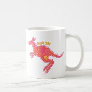 Mug Kangourou du feu