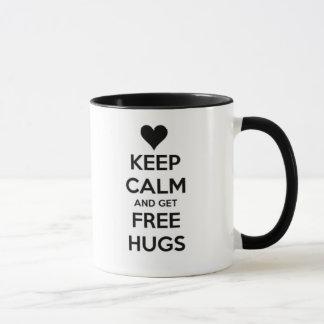 Mug Keep calm and get free HUGS!