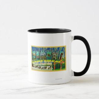Mug Ketchikan, Alaska - grandes scènes de lettre