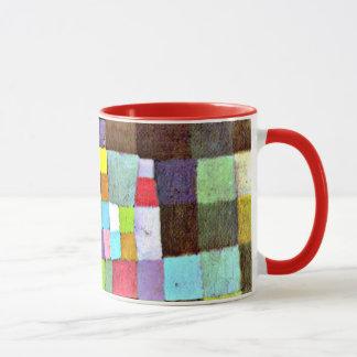 Mug Klee - abstraction concernant l'arbre fleurissant