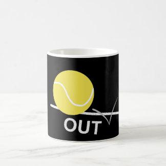 "Mug La balle de tennis """" attaquent"