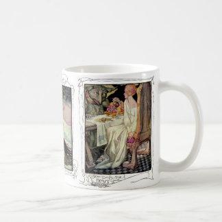 Mug La beauté et la bête, Rumpelstiltskin, neigent la