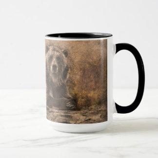 Mug La bénédiction Brown concernent la roche