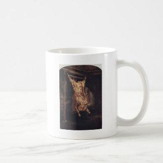 Mug La carcasse d'un boeuf par Rembrandt