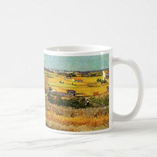 Mug La Crau, Montmajour, beaux-arts de récolte de Van