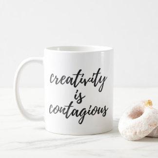 Mug La créativité est contagieuse