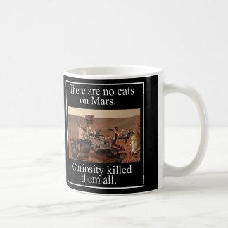 Mug La curiosité Rover de la NASA et aucuns chats sur