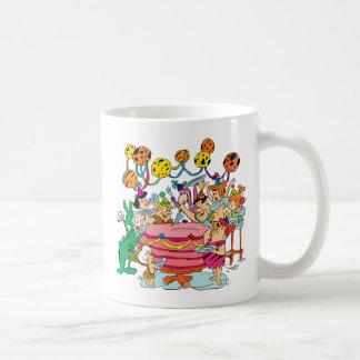 Mug La fête d'anniversaire des Flintstones |