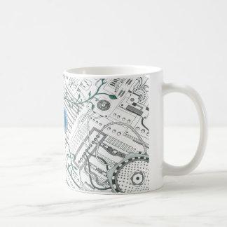 Mug La force par le fusible vert I
