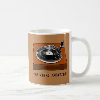 Mug La frontière de vinyle