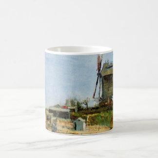 Mug La Galette, moulin à vent vintage de Van Gogh Le