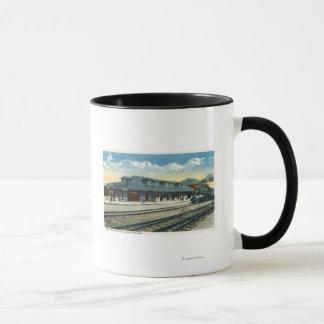 Mug La gare de central du Maine