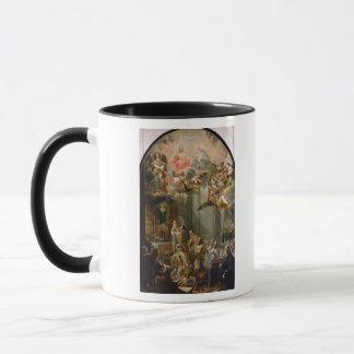 Mug La masse pour l'ordre de Trinitarians, 1666