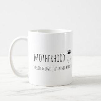 La maternité a rempli de combustible par l'amour,