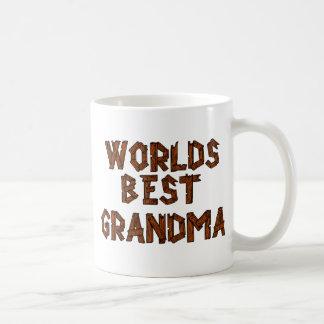 Mug La meilleure grand-maman du monde