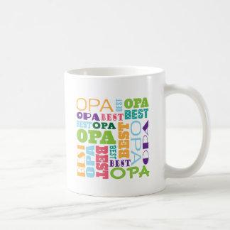 Mug La meilleure idée de cadeau de grand-papa d'Opa