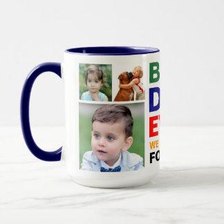 Mug La meilleure photo d'amour de papa pour toujours