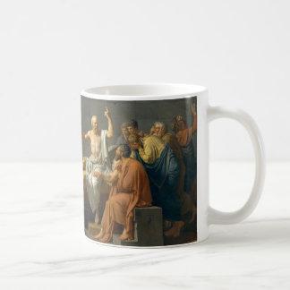 Mug La mort de Socrates par Jacques-Louis David