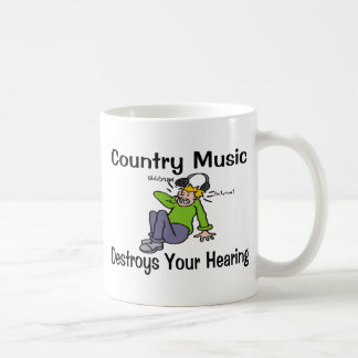 Mug La musique country détruit votre audition