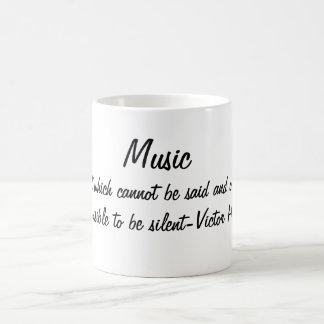 Mug La musique exprime…