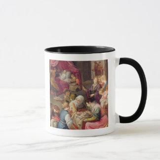 Mug La naissance de la Vierge, 1640 (huile sur la