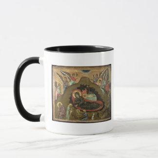 Mug La nativité, (huile sur le panneau)