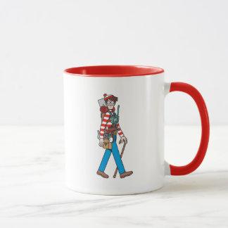Mug Là où est Waldo avec tout son équipement