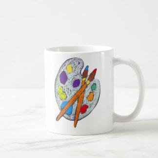 Mug La palette de l'artiste