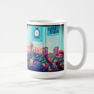 Mug La photo originale d'art urbain par des escargots