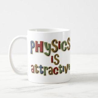Mug La physique est calembour drôle attrayant