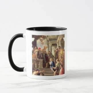 Mug La présentation de la Vierge au temple (huile