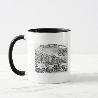 Mug La prise et la destruction d'Heidelberg par
