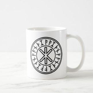 Mug La protection No.2 (noir) d'Odin
