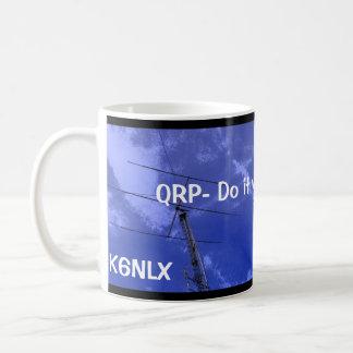 Mug La radio amateur QRP et l'indicatif d'appel