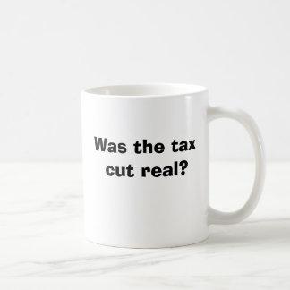 Mug La réduction des impôts était-elle vraie ?