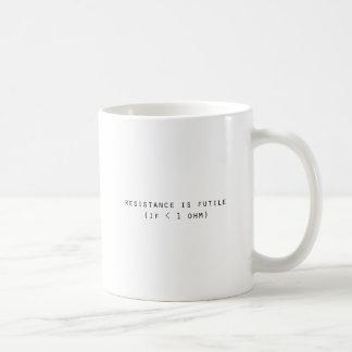 Mug La résistance est futile