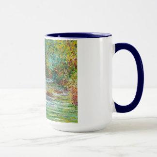 Mug La rivière d'Epte chez Giverny, été Claude Monet