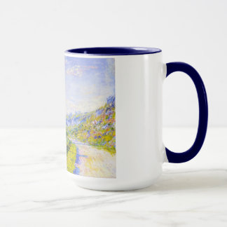 Mug La route du cool de Vetheuil Claude Monet, vieux,