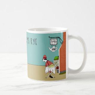 Mug La salle de thé de pavés, Rye