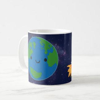 Mug La terre heureuse de planète