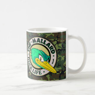 Mug La vie de canard de Camo de région boisée