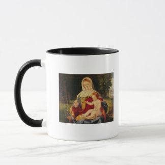 Mug La Vierge et l'enfant avec une pousse d'olive