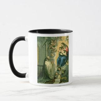 Mug La vision de St Bernard, 1634