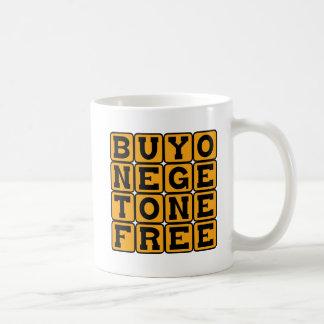 Mug L'achat un obtiennent un libre, enceinte avec des