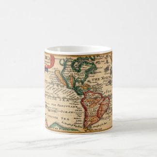 Mug L'Amérique et la Californie 1646