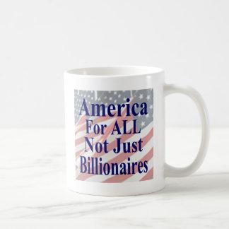 Mug L'Amérique pour TOUS pas simplement milliardaires