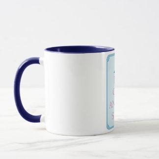 Mug L'amusement maintiennent calme et achètent la