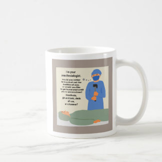 Mug L'anesthésiste vous obtiendra martelés