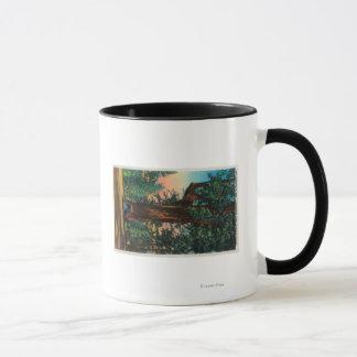 Mug L'arbre de lustre, parc de sous-bois