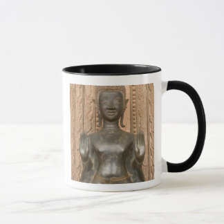Mug L'Asie, les Laotiens, Vientiane, Bouddha en bronze